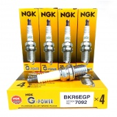 Свечи NGK G-Power 7092 BKR6EGP (комплект)
