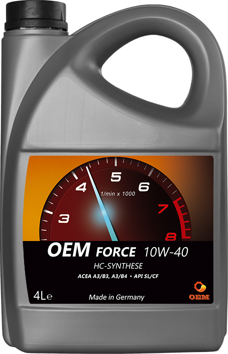 Масло OEM Force 10W40 SL/CF, 4л п/син.